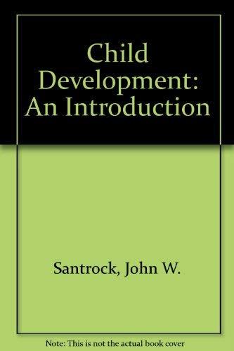 9780697004352: Child Development: An Introduction