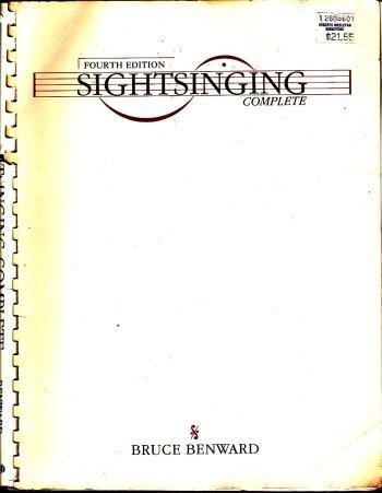 Sightsinging Complete: Benward, Bruce