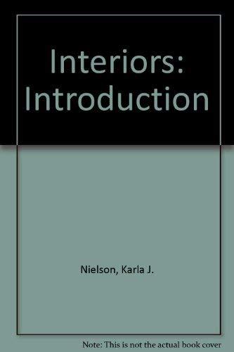 9780697012937: Interiors: Introduction