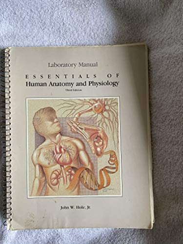 9780697013002: Essentials of Human Anatomy and Physiology Laboratory Manual