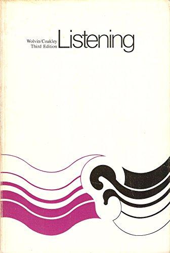 LISTENING: Wolvin, Andrew and Coakley, Carolyn Gwynn