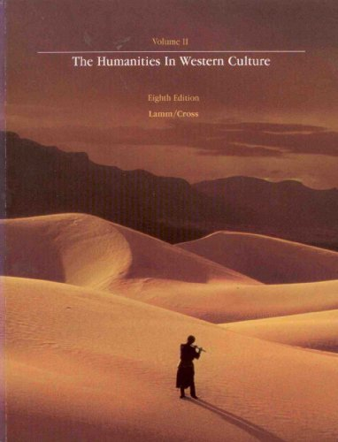 9780697031327: Humanities in Western Culture: v. 2