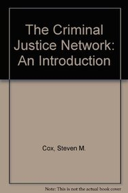 9780697031778: Criminal Justice Network an Introduction