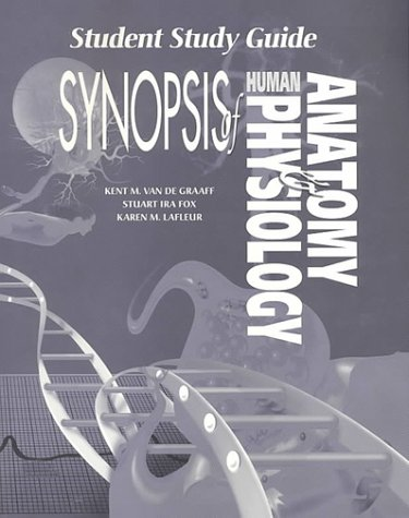 9780697033970: Student Study Guide To Accompany Synopsis Human Anatomy And Physiology