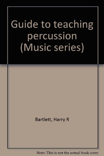 9780697034991: Guide to teaching percussion (Music series)
