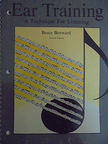 9780697035479: Ear training: A technique for listening