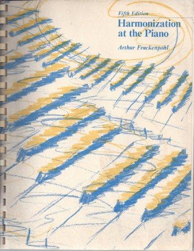 9780697035745: Harmonization at the Piano