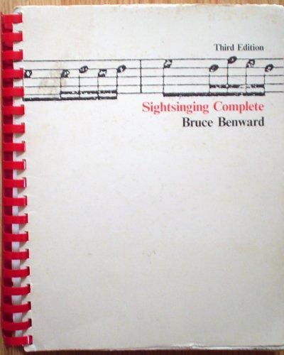 Sightsinging Complete: Bruce Benward