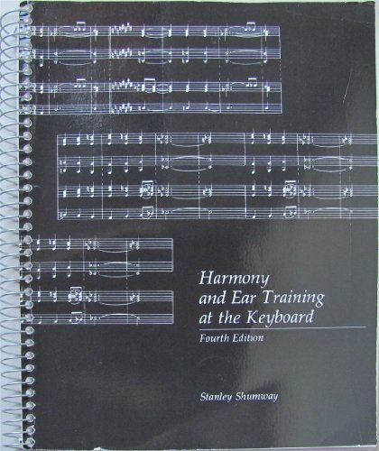 9780697036186: Harmony and Ear Training at the Keyboard