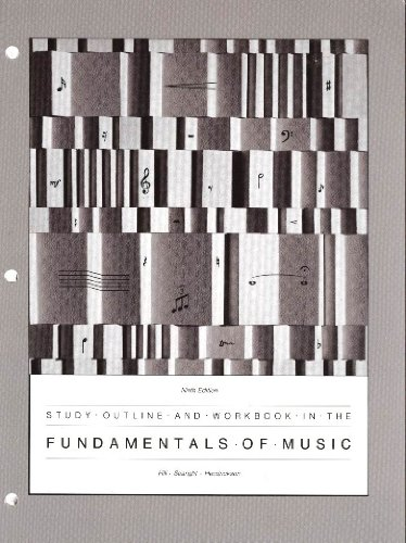 9780697036650: Study Outline and Workbook in the Fundamentals of Music