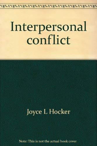 9780697041210: Interpersonal Conflict
