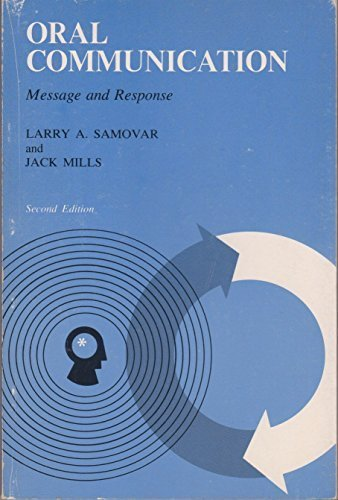 9780697041340: Oral communication: message and response