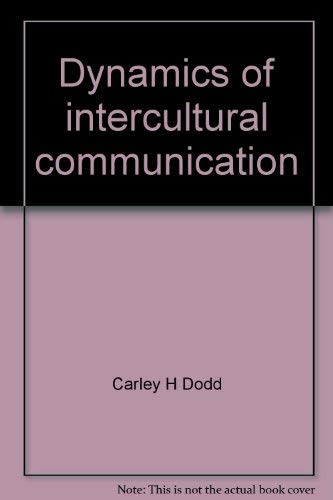 9780697041913: Dynamics of intercultural communication
