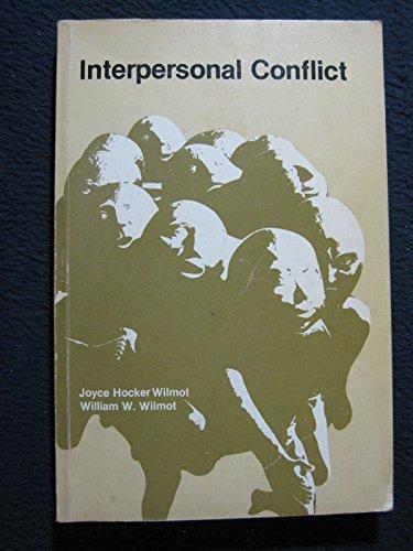 9780697042118: Interpersonal Conflict
