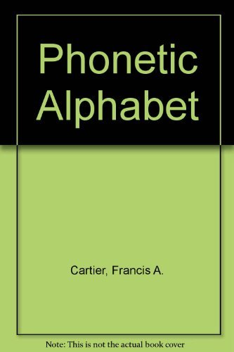 9780697042187: The Phonetic Alphabet