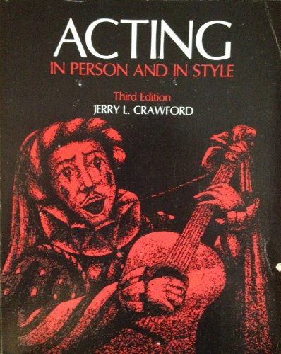 9780697042347: Acting, in person and in style