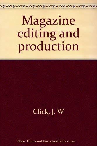 9780697043528: Magazine editing and production