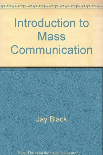 9780697043559: Introduction to mass communication