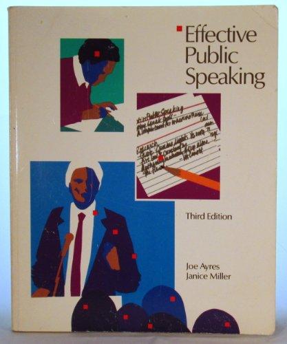Effective Public Speaking: Instructor's Manual: H.J. Ayres; J.