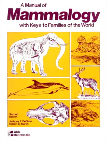 9780697045911: Manual of Mammalogy