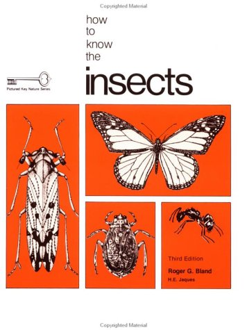 9780697047526: How to Know the Insects (Pictured Key Nature Series)