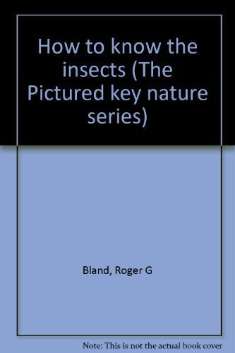 9780697047533: How to know the insects (The Pictured key nature series)