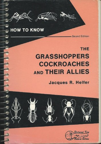 9780697048240: How to Know the Grasshoppers, Cockroaches, and Their Allies