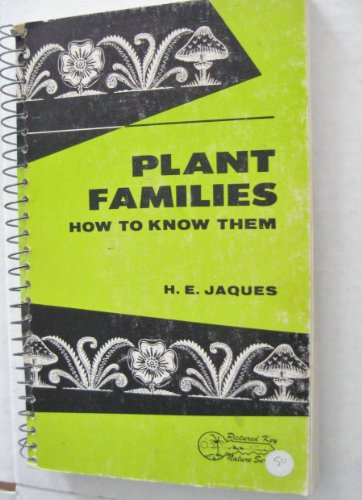 9780697048400: How to Know the Plant Families