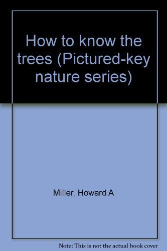 9780697048790: How to know the trees (Pictured-key nature series)