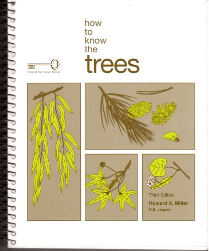 9780697048967: How to Know the Trees (Pictured Key Nature Series)