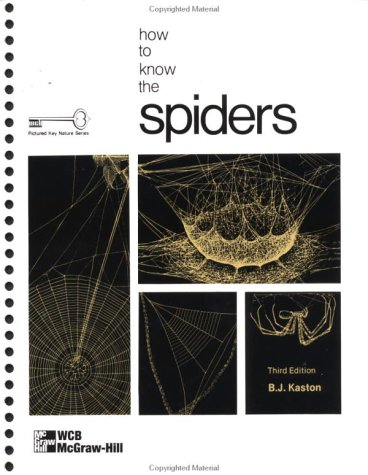 9780697048981: How to Know the Spiders (Pictured Key Nature)