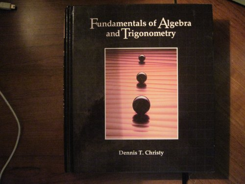 9780697053237: Fundamentals of Algebra and Trigonometry
