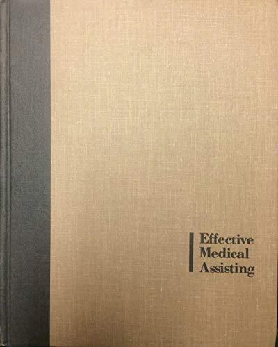 Effective Medical Assisting: Schwarzroc, Shirley P.