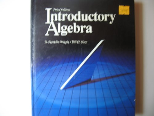 9780697059451: Introductory Algebra