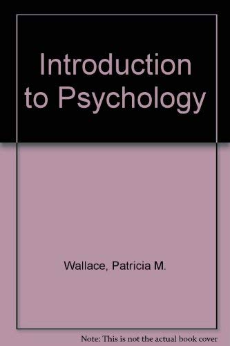 9780697059529: Introduction To Psychology