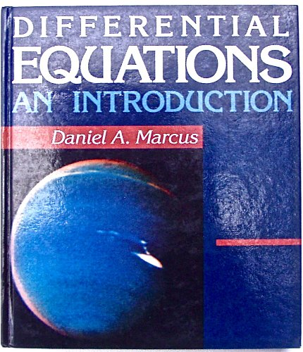 9780697059574: Differential Equations: An Introduction