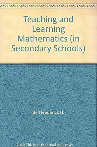 9780697060174: Teaching and learning mathematics (in secondary schools)
