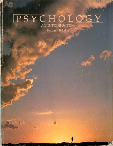 9780697065605: Psychology, an introduction