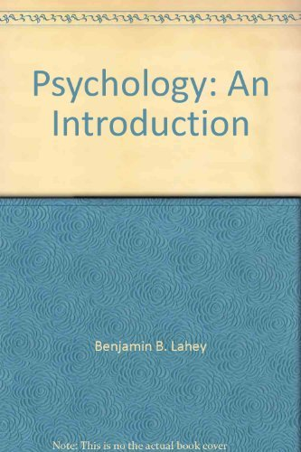 9780697065827: Psychology: An Introduction