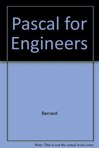 9780697067555: Pascal for Engineers