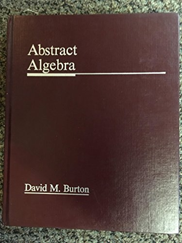 9780697067616: Abstract Algebra
