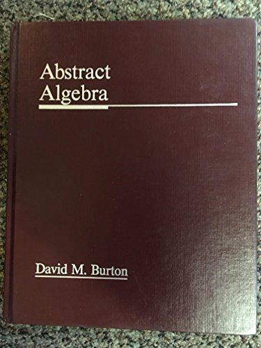 9780697067616: Abstract Algebra