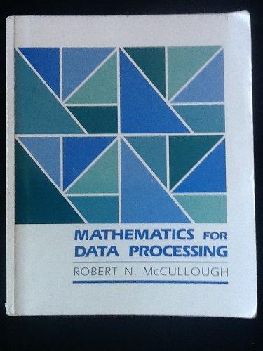9780697067661: Mathematics for Data Processing