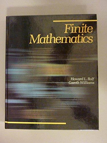 9780697067692: Finite mathematics
