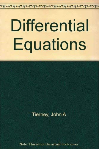9780697068859: Differential Equations