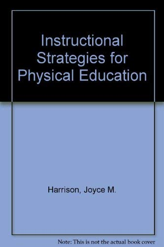 9780697072856 Instructional Strategies For Physical Education