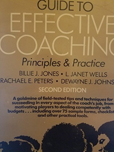 9780697074621: Guide to Effective Coaching: Principles and Practices