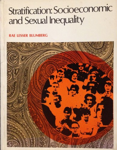 9780697075215: Stratification: Socioeconomic and Sexual Inequality (Elements of sociology)