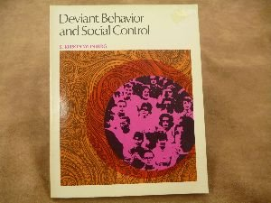 Deviant behavior and social control (Elements of sociology) - S. Kirson Weinberg