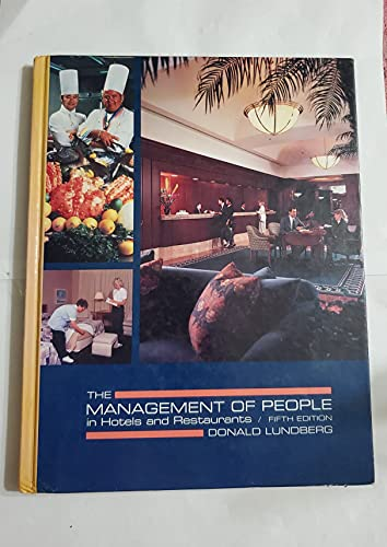 The Management of People in Hotels and: James P. Armatas;